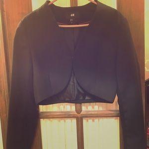 H&M Black Bolero Jacket